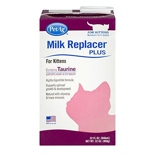 Pet Ag Milk Replacer Plus for Kittens, 32.0 FL OZ