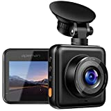 【Updated】 APEMAN Dash Cam 1080P Full HD Mini Dash Camera for Cars Recorder Super Night Vision, 170° Wide Angle, Motion Detection, Parking Monitoring, G-Sensor, Loop Recording