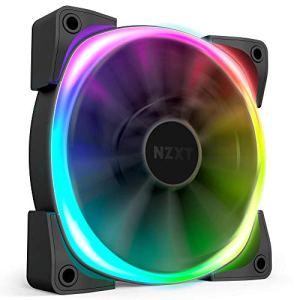 NZXT AER RGB 2 – HF-28120-B1 – 120mm – Advanced Lighting Customizations – Winglet Tips – Fluid Dynamic Bearing – LED RGB…