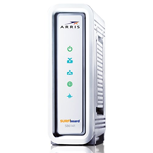 ARRIS SURFboard SB6141-RB 8x4 DOCSIS 3.0 Cable Modem (Renewed)