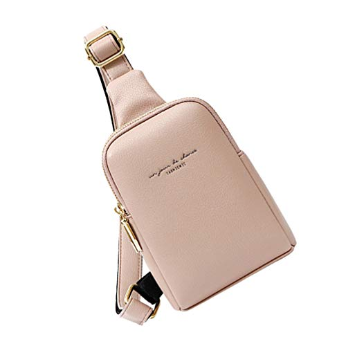 Amosfun-fanny-for-pack-women-belt-bag-plus-size-waist-st-bags-holographic-packs-patricks-bum-day-party-PU-Waist-Bag-Shoulder-Fashionable-Bags-Women-Girls-Lady-Pink
