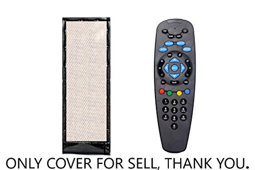 PRUSHTI COVER AND BAGS,PU Leather Cover Holder Protective Case for TV/Dish TV Remote Control 173