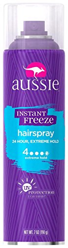 Aussie Instant Freeze Spray, Aerosol - 7 oz