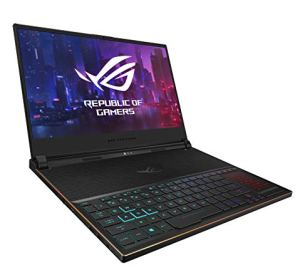 ASUS ROG Zephyrus S Ultra Slim Gaming Laptop, 15.6' 144Hz IPS Type FHD, GeForce RTX 2070, Intel Core i7-8750H, 16GB DDR4, 512GB PCIe NVMe SSD, Aura Sync RGB, Windows 10 64-bit, GX531GW-AS76 .62' Thin