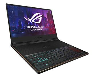 "ASUS ROG Zephyrus S Ultra Slim Gaming Laptop, 15.6"" 144Hz IPS-Type Full HD, GeForce RTX 2070, Intel Core i7-8750H CPU, 16GB DDR4, 512GB PCIe NVMe SSD, Aura Sync RGB, Windows 10 - GX531GW-AS76"