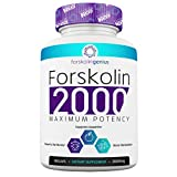 Genius Forskolin 100% Ultra Pure Forskolin for Weight Loss Max Strength - The Smart Weight Loss Formula Belly Buster Supplement