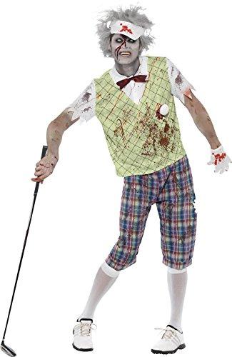 Smiffys Men's Zombie Golfer Costume