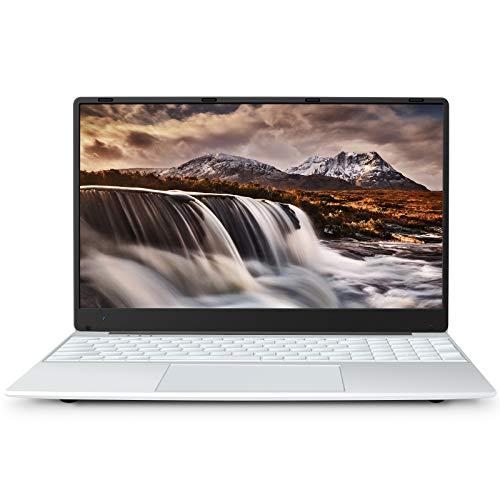 MEBERRY-Ordinateur-Portable-156-FHD-Tres-Mince-Windows-10-PC-Portable-8-GB-RAM256-GB-SSD-1920-x-1080-IPS-24G5G-WiFi-Micro-SD-Fente-Bluetooth-HDMI-USB-30-20-Argent