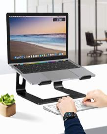Nulaxy-Laptop-Stand-Ergonomic-Aluminum-Laptop-Mount-Computer-Stand-Detachable-Laptop-Riser-Notebook-Holder-Stand-Compatible-with-MacBook-Air-Pro-Dell-XPS-Lenovo-More-10-156-Laptops-Black
