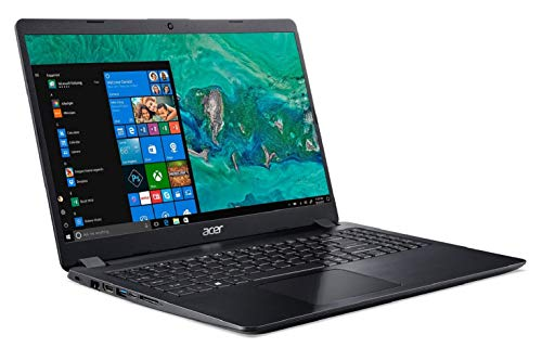 Acer Aspire 5S Core i5-8265U 8th gen 15.6-inch Full HD Thin and Light Laptop (8GB/16GB Optane/1 TB HDD/2GB NVIDIA GeForce MX130 Graphics/Microsoft Office 2016/Win10/Obsidian Black/1.8 kg), A515-52G 4
