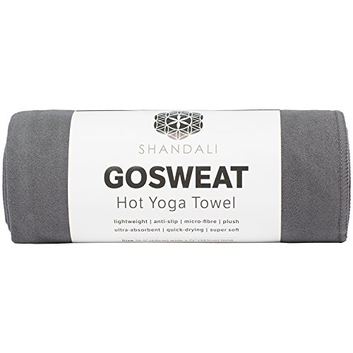 Shandali Hot Yoga Towel - Suede - 100%...