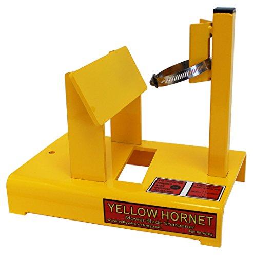 Yellow Hornet Lawn Mower Blade Sharpener/Grinder Motor NOT Included
