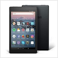 All New Fire Tablet Display Black