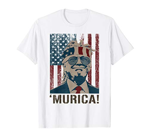Trump 2020 Shirt Murica 2020 Election 4th of July Gifts