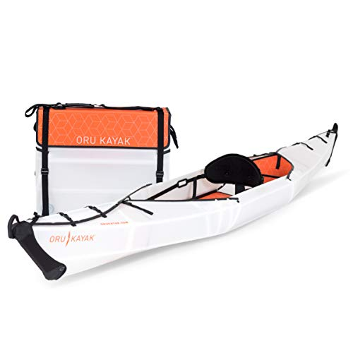 Oru Kayak Beach LT Folding Portable Lightweight Kayak - for Day Trips, Picnics, and Casual Fun with Family and Friends ...