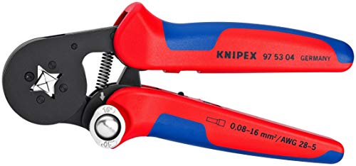 KNIPEX 97 53 04 Self-Adjusting Crimping Pliers