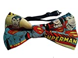 Superman Bow Tie, Adult, Adjustable up to 18 Inches