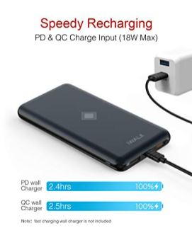 iWALK-Wireless-Portable-Charger-10000mAh-Quick-Charge-30-PD-18W-Power-Bank-with-4-Outputs-Dual-Inputs-External-Battery-Compatible-with-iPhone-11-proiPadSamsung-and-More