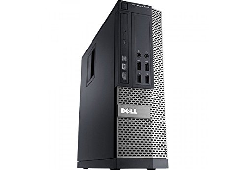 41Uql58VlaL - Dell Optiplex 9020 Small Form Factor Desktop - Speedy i7-4770 3.40 GHz CPU (4th Gen) - 8GB RAM - Ultra Fast 256GB SSD - Windows 10 Professional (Renewed)