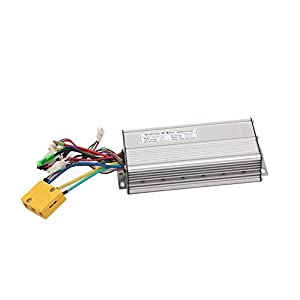 Pet Time 26A 750W/1000W Brushless DC Sine Wave Ebike Controller Silver Color With Regenerative Function For Electric Bike (35A 1500W)