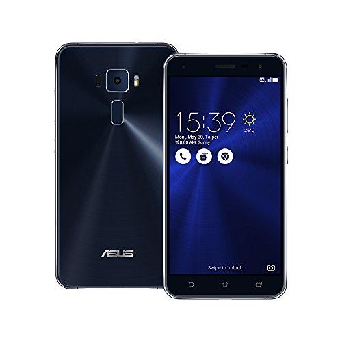 Asus ZenFone 3 ZE520KL Unlocked Dual Sim Phone, 32GB, 5.2-inch, 3GB RAM, No Warranty - International Version (Sapphire Black)