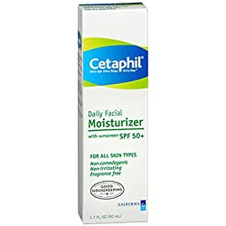 Cetaphil Daily Face Moisturizer Sunscreen SPF 50 1.7 OZ - Buy Packs and SAVE (Pack of 2)