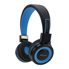 Portronics POR-011 Muffs G Wireless Bluetooth 4.2 Stereo On-Ear Foldable Headphones with Immersive Stereo Sound Hands-Free Mic (Blue)