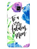 MADANYU Samsung Galaxy On Max Cover - Happy Mothers Day to Very Fabulous Mom Quote Designer Printed Slim Back Case Cover for Samsung Galaxy On Max (for Women)