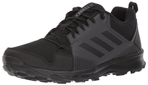 adidas Outdoor Men's Terrex Tracerocker Trail Running Shoe, Black/Black/Utility Black 10 D US