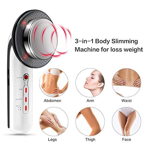 3 in 1 Body Slimming machine, Multifunctional Body Shaping SPA Massager, Cellulite Removal Massager for Face and Body Portable Electric Device for Weight Loss Anti-wrinkle and Beauty 2
