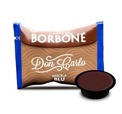 Caffè Borbone Don Carlo Miscela Blu – Confezione da 100 Capsule – Compatibili con macchine a marchio Lavazza®*A Modo Mio®*