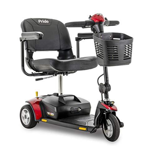 Pride Go-Go Elite Traveller 3-Wheel Scooter 12 Ah Battery