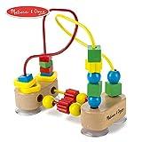 Melissa & Doug First Bead Maze (Developmental Toys, Wooden Educational Toy, Quality Craftsmanship & Sturdy Construction)