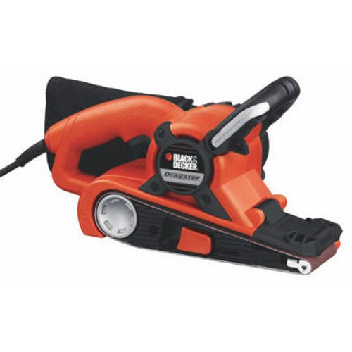 BLACK+DECKER DS321 Dragster 7 Amp 3-Inch by 21-Inch Belt Sander with Clot