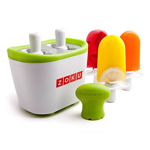 Zoku Single Quick Pop Maker, Make Popsicles in as Little as 7 Minutes, Purple