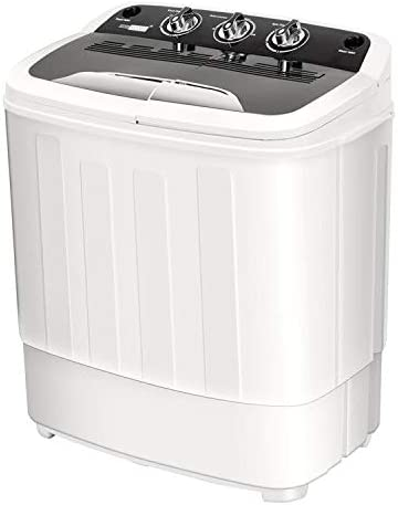 Vivohome Electric Portable 2 In 1 Twin Tub Mini Laundry Washer And Spin Dryer Combo Washing Machine With Drain Hose For Apartments 13 5lbs Capacity Amazon Ca Home Kitchen