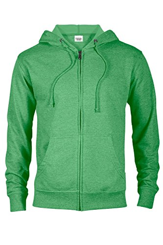 Casual Garb Hoodies for Men Lightweight Fitted Heather French Terry Full Zip Hoodie Hooded Sweatshirt 1 Fashion Online Shop Gifts for her Gifts for him womens full figure
