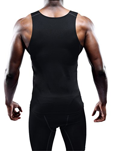 Neleus Men's 3 Pack Athletic Compression Under Base Layer Sport Tank Top 16 Fashion Online Shop gifts for her gifts for him womens full figure