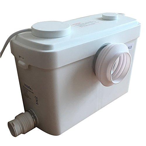 SANI-MOVE-Toilet-Macerating-Pump-Upgraded-Kitchen-Waste-Water-Disposal-PumpReamer-crush-FunctionAutomatic-start-stopAC-110V-600W-High-Power-Saving-Function-Toilet-Macerator-Pump-White