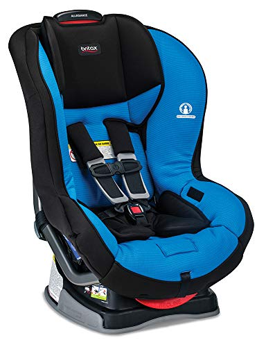 Britax Allegiance 3 Stage Convertible Car Seat - 5 to 65 Pounds - Rear & Forward Facing - 1 Layer Impact Protection, Azul