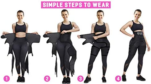 ROSRAN Waist Trainer for Women, Waste Trainers for Women, Hip Enhancer Invisible Lift Butt Lifter Shaper Waist Trainer Thigh Trimmers for Women 5