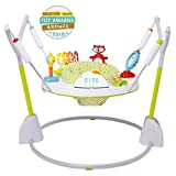 Skip Hop Explore & More Jumpscape Fold-Away Baby Jumper with Bounce Counter, Multi-Colored