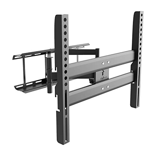 Articulating TV Wall Mount Bracket for Most 37-70 inches Plasma, LED, LCD, OLED Flat Screen TVs up to 132lbs VESA 600x400mm (RDTVM), Black by WALI