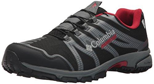 Columbia Men's Mountain Masochist IV Outdry Trail Running Shoe, Black, Rocket, 11.5 D US