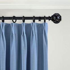 Black Curtain Rod