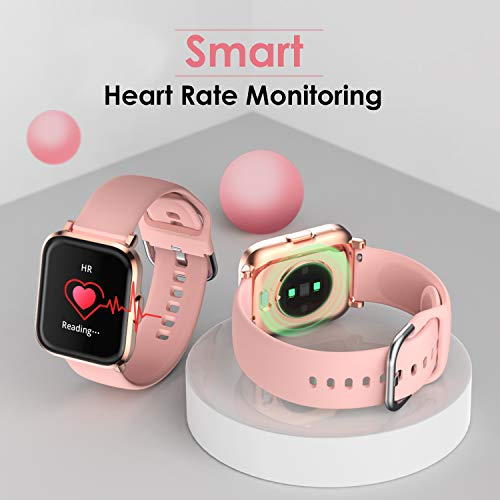 HolyHigh-Smart-Watches-for-Men-Women-Full-Touch-Customize-Watch-Face-with-Heart-Rate-BPBlood-Oxygen-Sleep-Monitor-Water-Resistant-Smart-Fitness