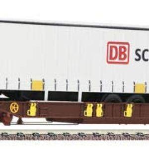 Fleischmann 825050 AAE T3 Pocket Wagon DB Schenker Trailer VI 41Vg PvE1sL