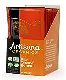 Artisana Organics Non GMO Raw Cashew Butter, 10 Snack Pouches