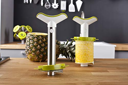 Tomorrow's Kitchen Stainless Steel Pineapple Corer, Slicer and Wedger