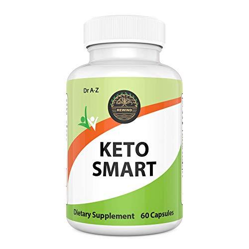 Keto Smart, Pure Keto Diet Pills - Ketosis Supplement to Burn Fat Fast, Keto Burn Diet Pill, Ketogenic Diet Pill Ketosis, Keto Burn, Keto Boost Shark Tank, Appetite Suppressant, Max Keto Slim